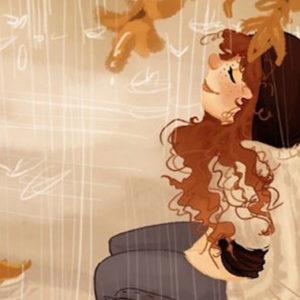 Ida findet den Herbst im Januar ganz gemütlich