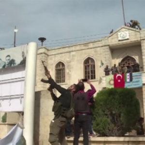 Türkei besetzt die Stadt Afrin