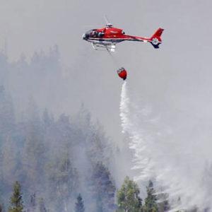 Schwedens Waldbrände können nicht mehr gelöscht werden