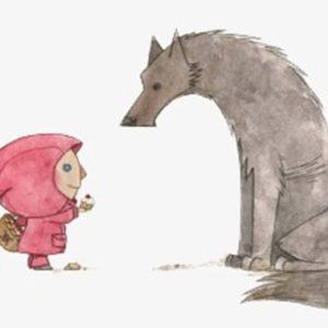 Ida freut sich: der Wolf ist wieder da