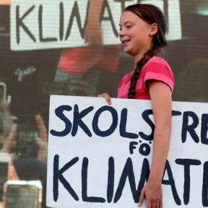 Greta Thunberg spricht in New York – Zehntausende kommen