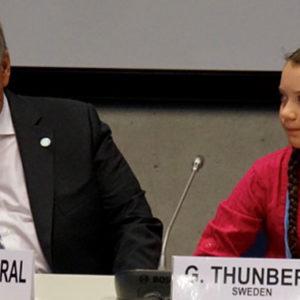 """Greta Thunberg auf dem UN-Klimagipfel in New York: """"Ihr lasst uns ihm Stich!"""""""