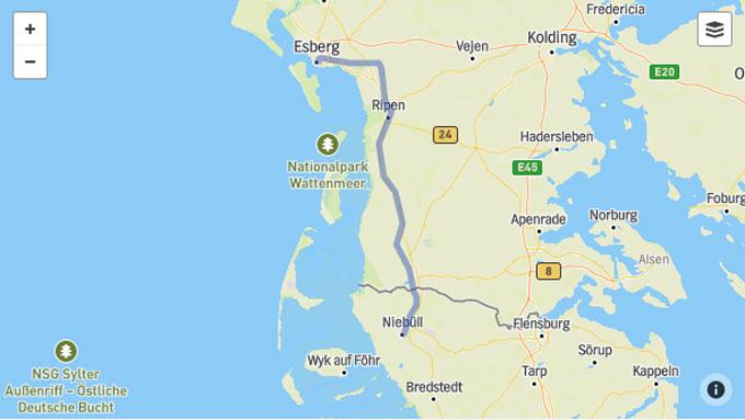 Dänemark blockiert Ausbau der Bahnstrecke Niebüll – Esbjerg ...