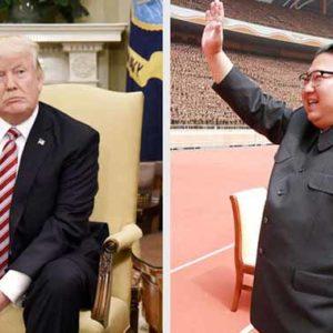 Kim Jong-un sendet Grüße an Donald Trump